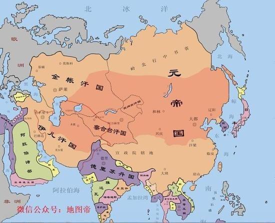 中国各朝代历史疆域地图大全,中国古代居然这么牛逼