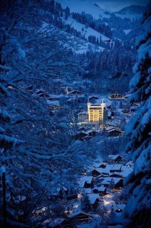 世界最美的神仙小镇-因特拉肯