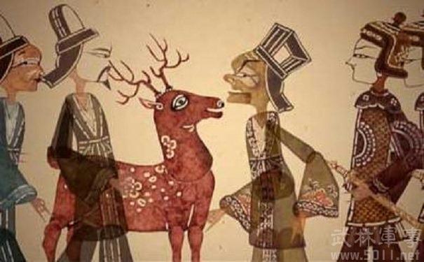 赵高指鹿为马的典故 赵高指鹿为马的目的