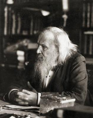 世界上最早发现元素周期律的人 门捷列夫